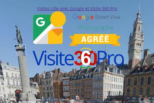 Lille 360 le portail de visites virtuelles à Lille