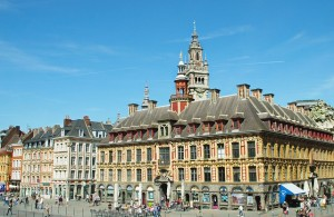 Lille Grand-Place Vieille Bourse Beffroi